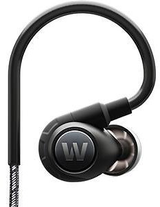 Westone Adventure Series ALPHA Cross-over In-Earphones with In-Line Microphone, Remote Control and Reflective Cable