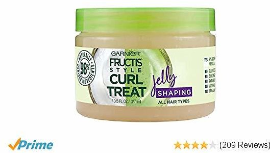 Garnier Hair Care Fructis Style Curl Treat Jelly Shaping Leave-in Styler To Shape Curls, 10.5 Fl Oz