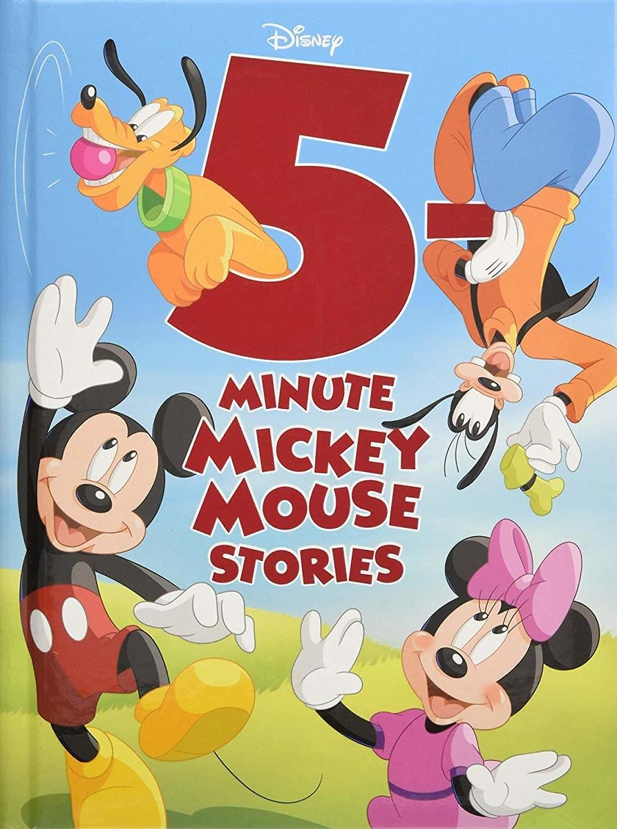 5-Minute Mickey Mouse Stories (Hardcover)