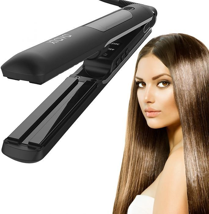 Professional Steam Straightener By Xtava – Ceramic 1