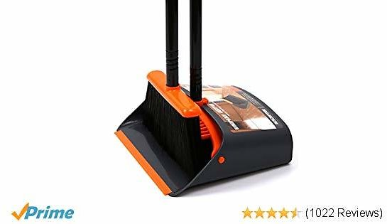 Dust Pan and Broom/Dustpan Cleans Broom Combo with 52