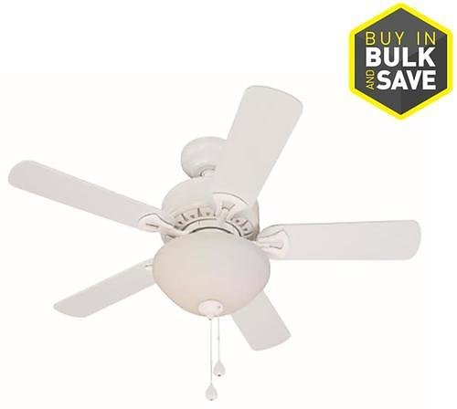 Harbor Breeze 36-in White LED Indoor Ceiling Fan