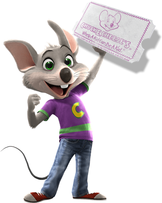 10 Free Points From Chuck E. Cheese