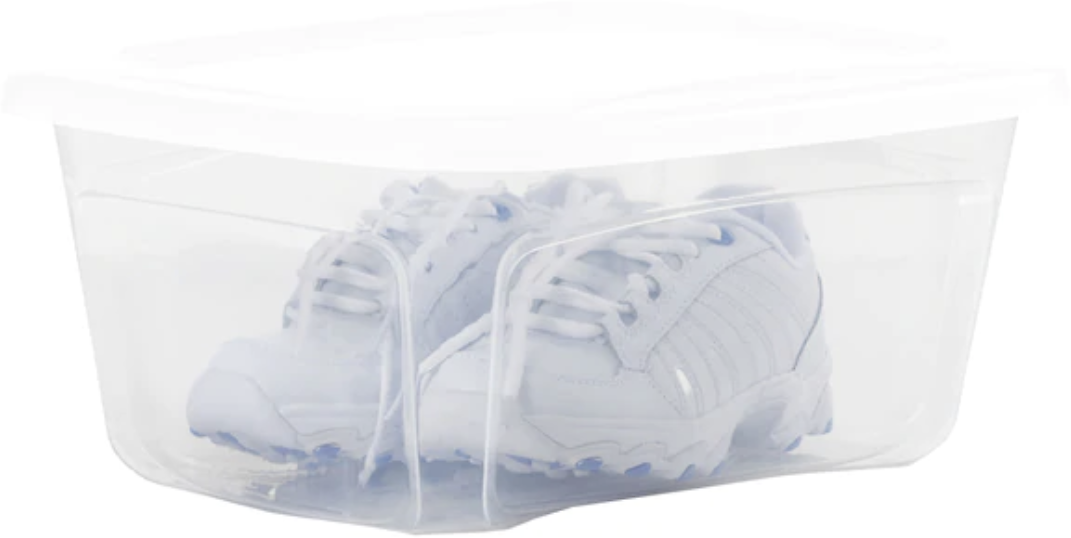 Bella 1.5-Gallon Shoe Box w/ Standard Snap Lid