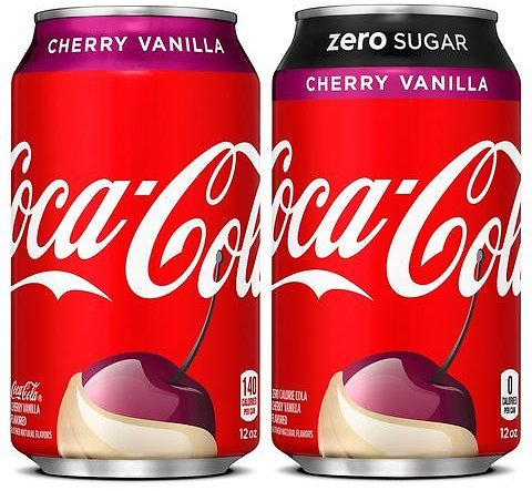 Coca-Cola's New Cherry Vanilla Flavor Is Hitting Shelves As The Next Must-Try Soda