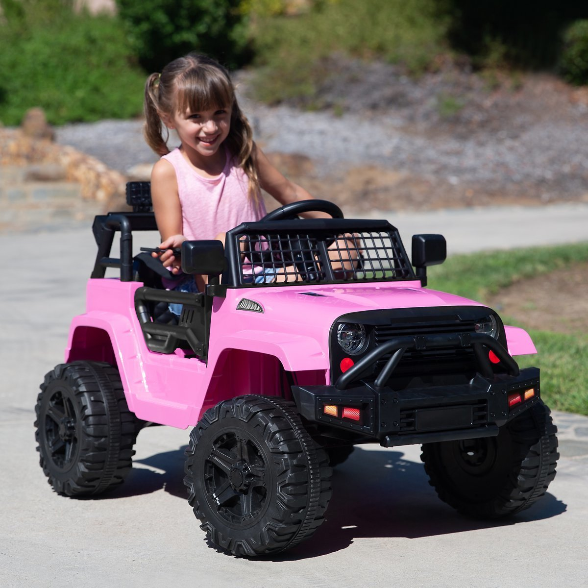 BCP 12V Kids Ride-On Truck Car w/Parent Remote Control + F/S