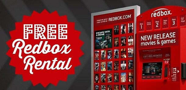 Sign Up for Redbox & Get a Free Welcome 1-Night DVD Rental + Another Rental for Your Birthday