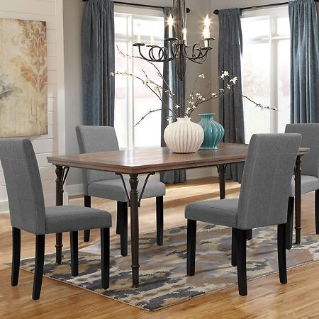 Set of 4 Walnew Modern Upholstered Dining Chairs (3 colors)