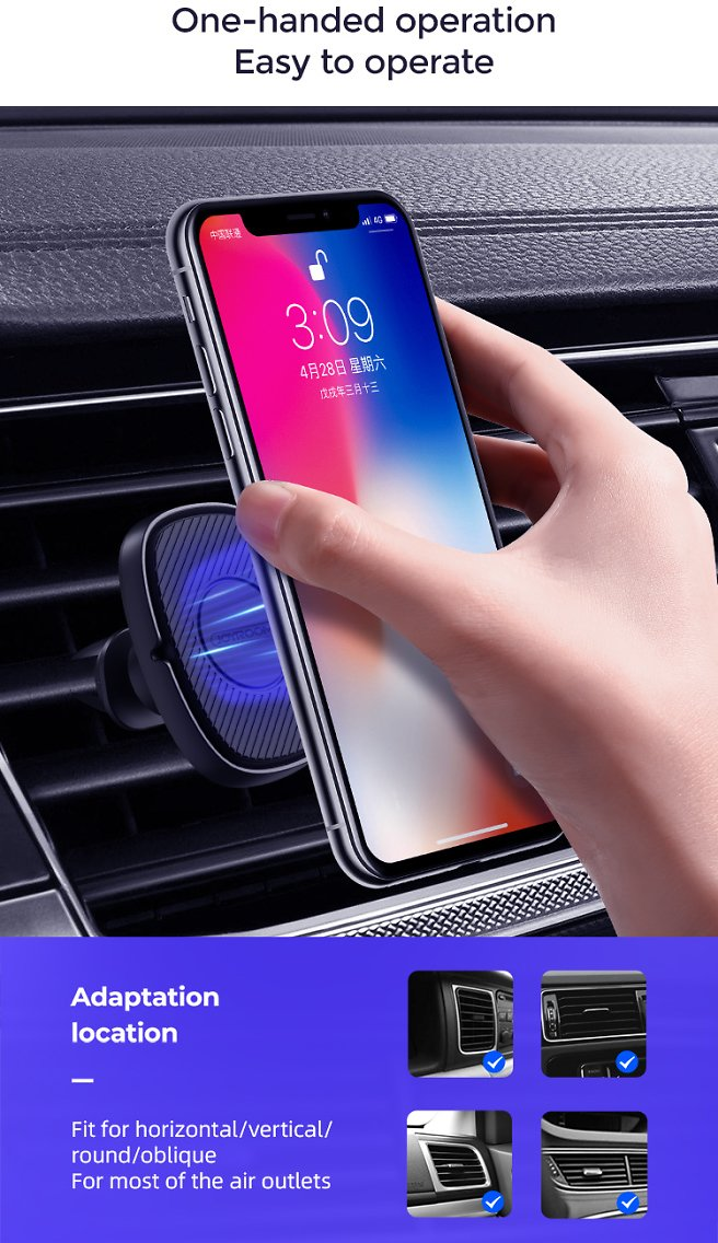 Ar Phone Mount Magnetic Holder Car -50% OFF HURRY up
