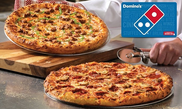 $5 for $10 Domino's Egift Card Groupon.com ( Select Users)