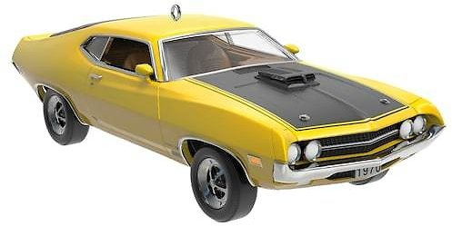 Classic American Cars 1970 Ford Torino Cobra Metal 2019 Hallmark Keepsake Christmas Ornament