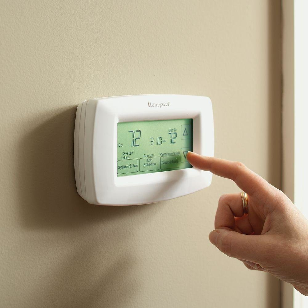 Today Only!  Honeywell Home 7-Day Programmable Touchscreen Thermostat + F/S