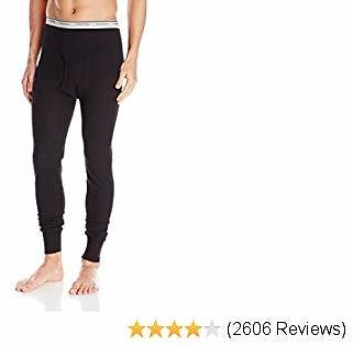 Fruit of the Loom Men's Waffle Thermal Underwear Bottoms (Assorted Colors)