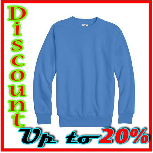 Boys 4-18 Ecosmart Fleece Crew Neck Sweatshirt DISCOUNT 30%