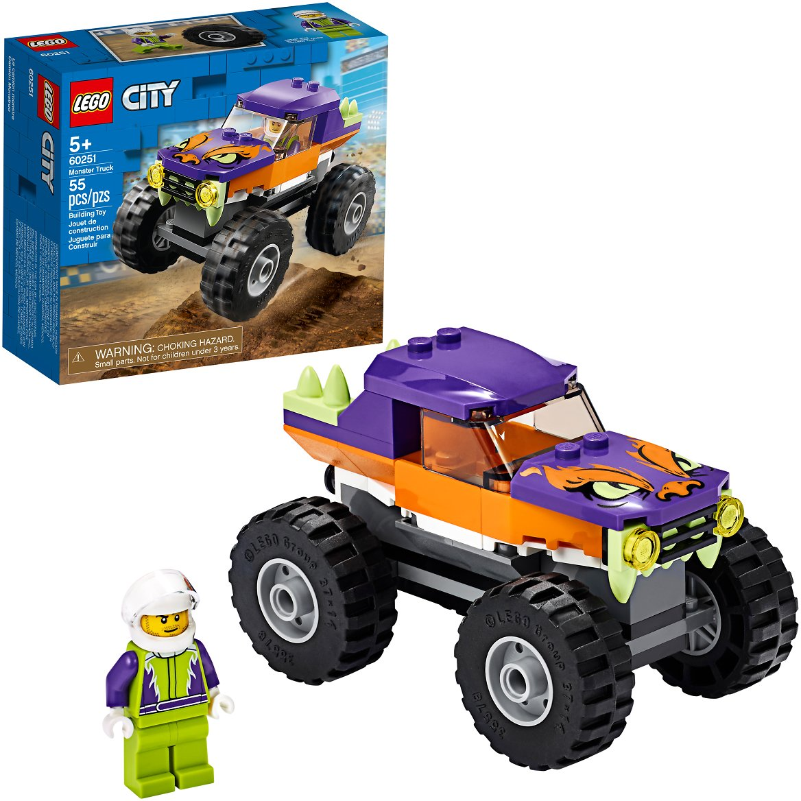 LEGO City Monster Truck 60251 (55 Pieces)