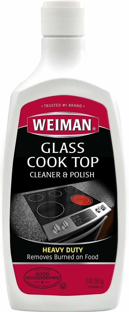 20-Oz. Weiman Glass Cooktop Cleaner & Polish