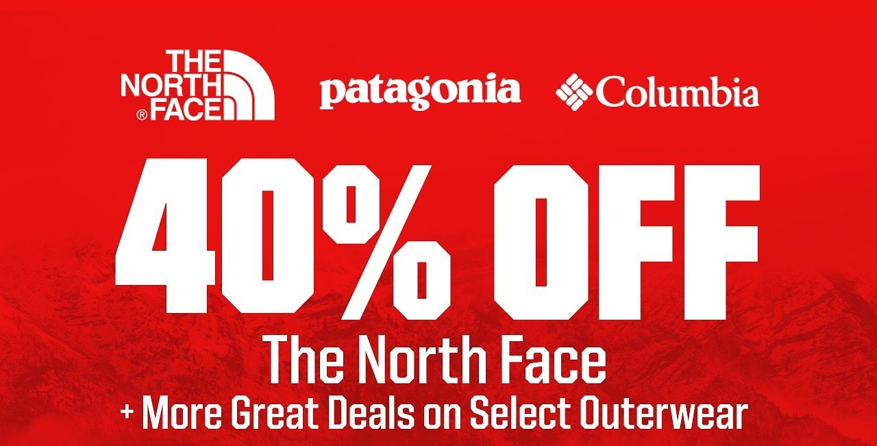40% Off The North Face + More Great Outerwear Deals