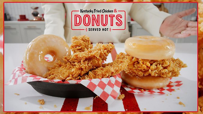 Kentucky Fried Chicken & Donuts Starting February 24, 2020