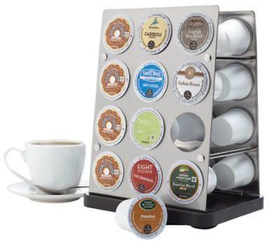 Stainless-Steel Coffee Pod Rack w/ $75 Purchase