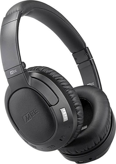 SAVE $90 - MEE Audio - Matrix Cinema Wireless Noise Cancelling Over-the-Ear Headphones - Black
