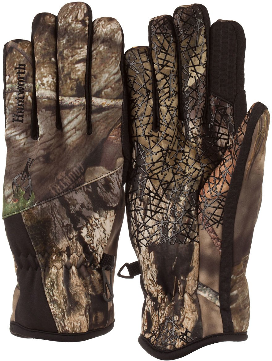 Huntworth Mens Mossy Oak Country Stealth Hunting Glove