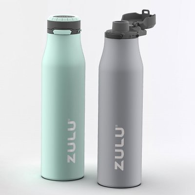 2 Pack ZULU 26 oz. Stainless Insulated Water Bottle