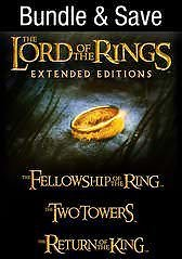 The Lord of The Rings Trilogy (Extended Edition Bundle)