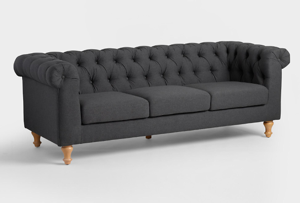 World Market Quentin Chesterfield Sofa