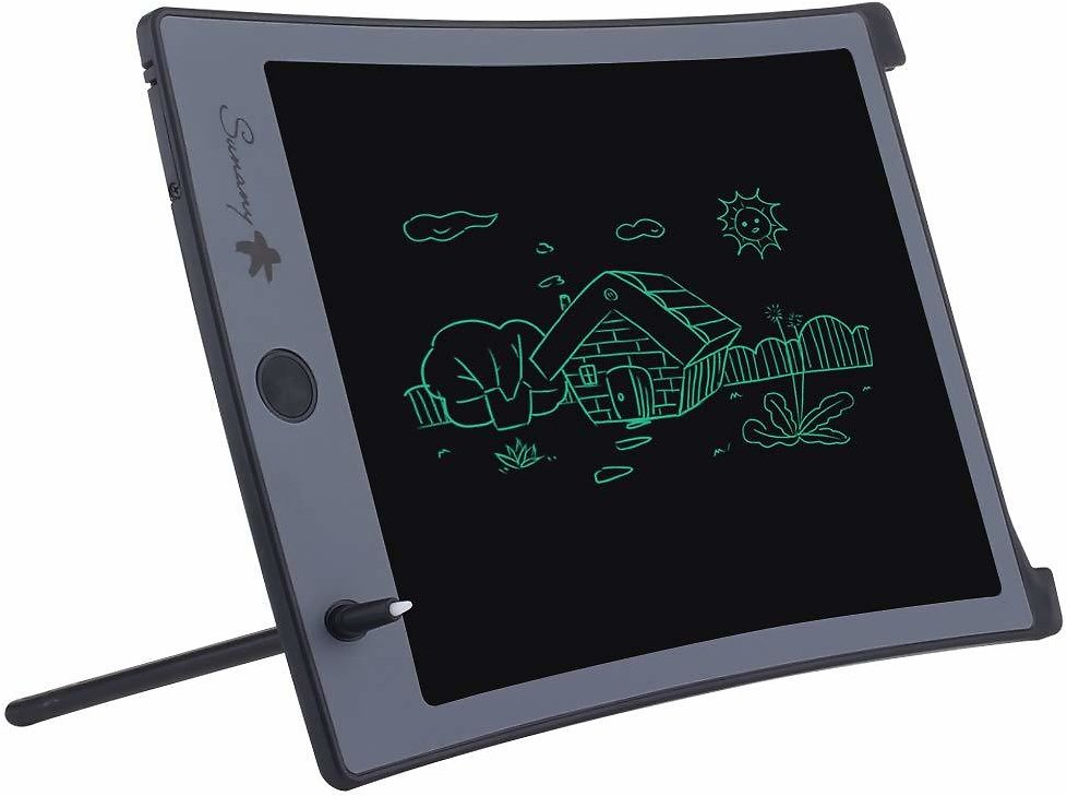 LCD Writing Tablet,8.5-inch Electronic Drawing Board and Doodle Board Gifts for Kids At Home and School (Black)