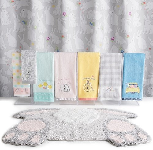 Up To 60% Off Easter Bunny Bath Towel Collection