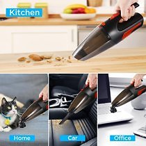Faayfian 110-240V 120W High Power 10000PA Car Home Vacuum Cleaner Rechargeable