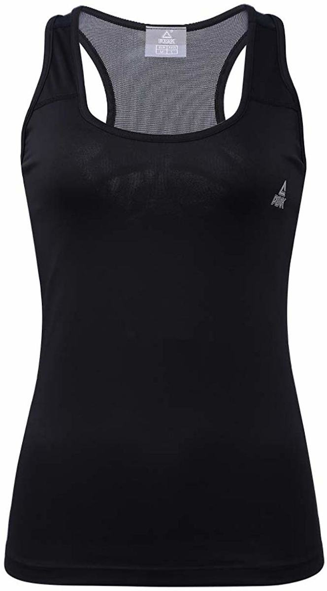 PEAK Home Workouts Tank Tops for Women Racerback, Loose Fit Mesh Yoga Shirts Running Athletic Exercise Gym Clothes