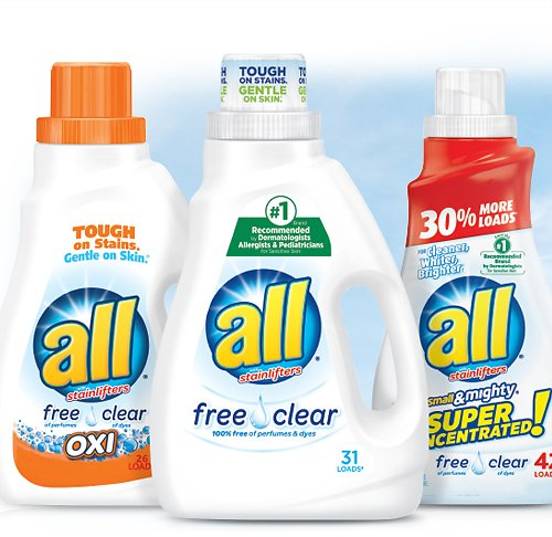 All & Snuggle Laundry Detergents