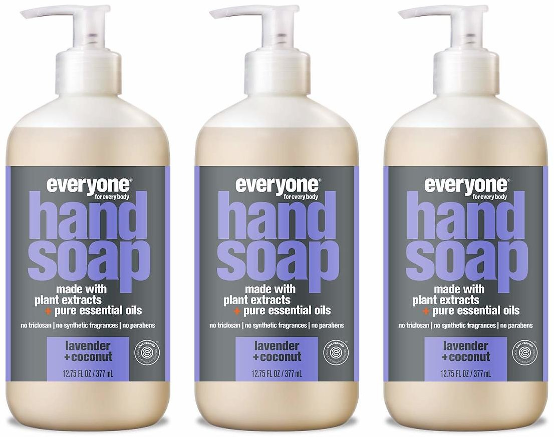 3-Pack Everyone Hand Soap (6 Scents)