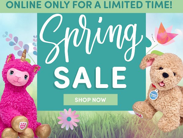 Online Only! Spring Clearance Sale