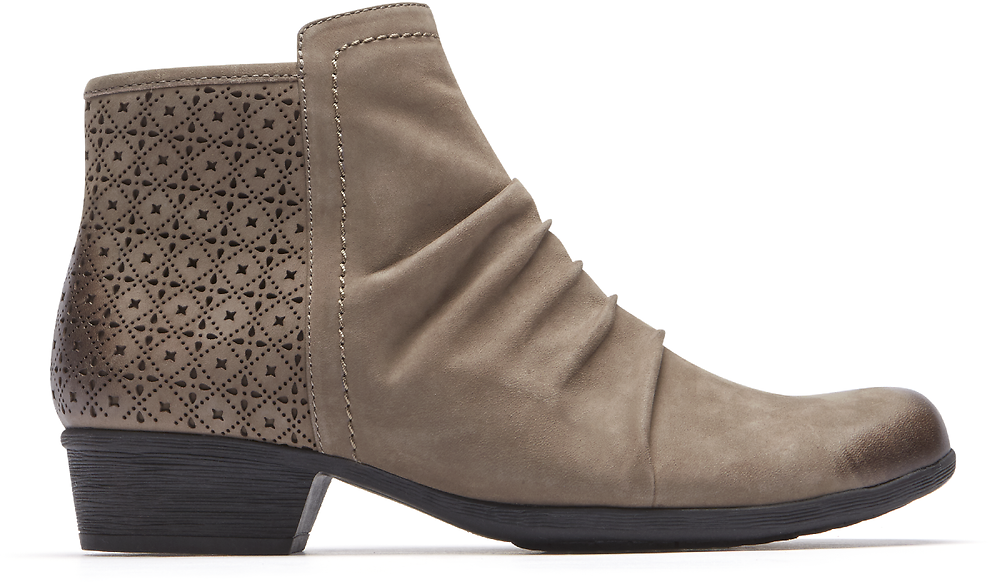 Women's Carly Ruched Bootie (2 Colors)