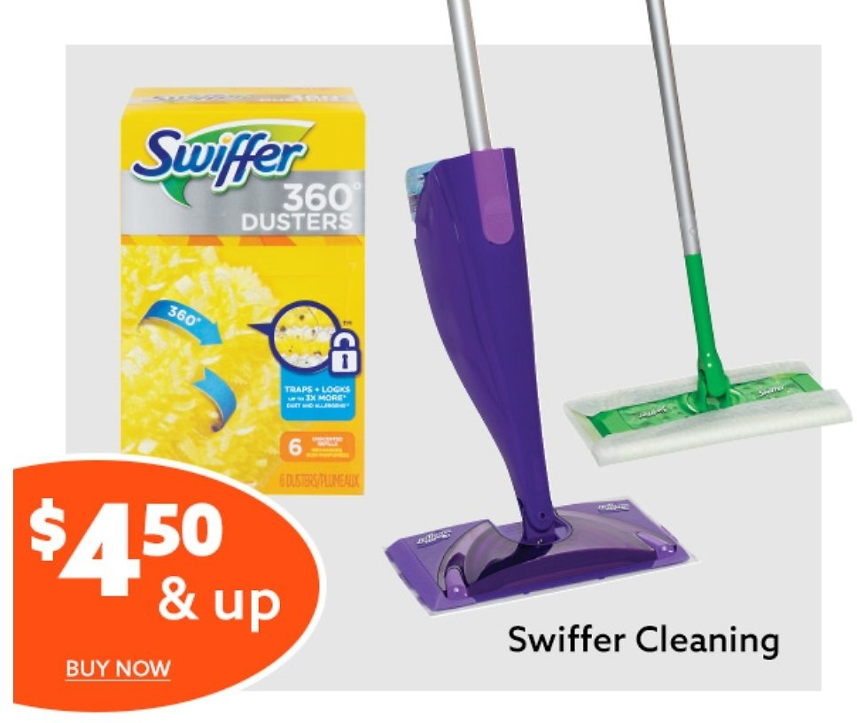 Swiffer Sweepers, Refills, WetJet & Duster Kits - Big Lots