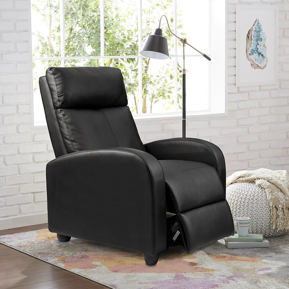 Homall Single Recliner Chair Padded Seat Sofa Recliner