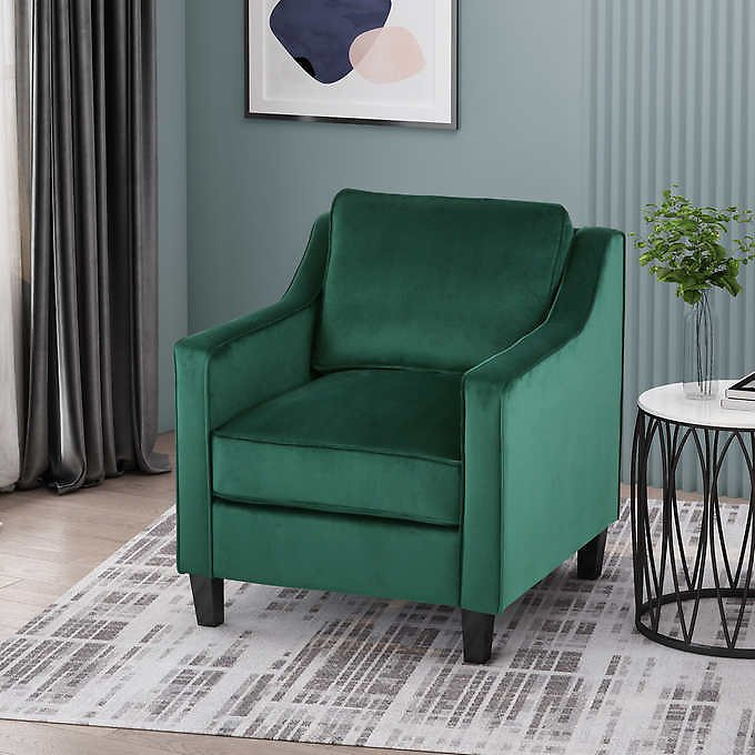 Milo Fabric Accent Chair