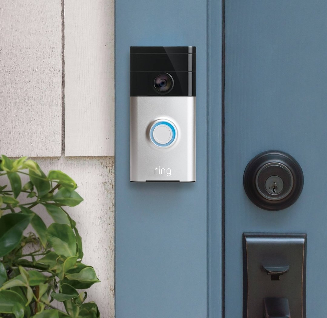 Ring Wi-Fi Enabled Video Doorbell (Satin Nickel)