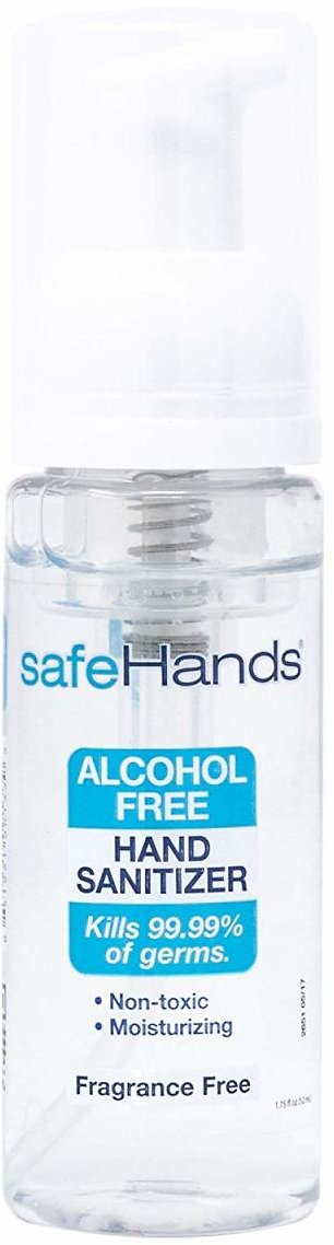 SafeHands Alcohol-Free Hand Sanitizer (Ships Free)