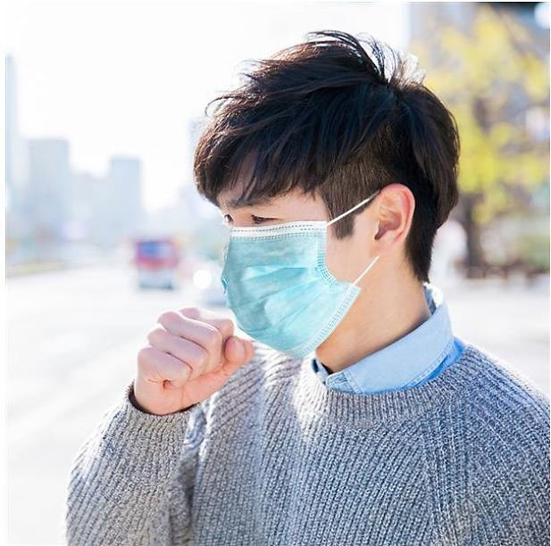 50 Pcs 3-Ply Disposable Face Cover
