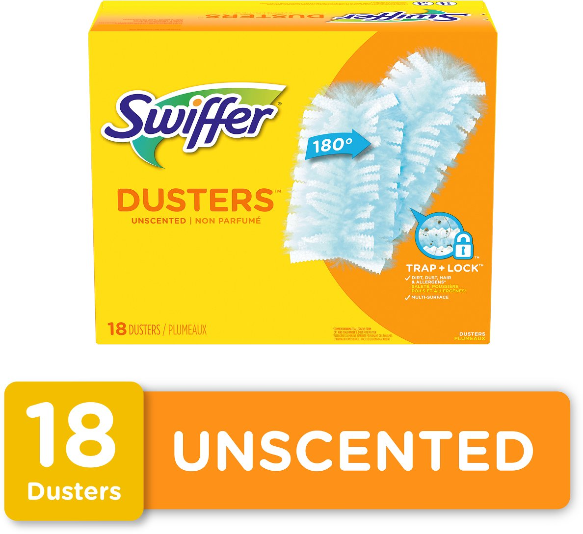 18 Count - Swiffer Duster 180 Refills, Unscented