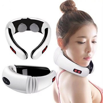 Hot Electric Cervical Neck Support Massager Body Shoulder Relax Massage Magnetic TherapySkin CarefromHealth & Beautyon Banggood.com