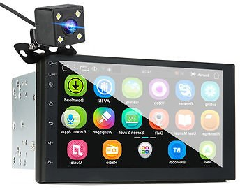 IMars 7 Inch 2 Din Car MP5 Player for Android 8.0 2.5D Screen Stereo Radio GPS WIFI Bluetooth FM with Rear Camera  Car Audio & Monitor from Automobiles & Motorcycles on Banggood.com