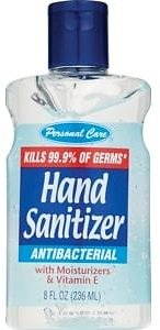 8-Oz Personal Care Hand Sanitizer, Antibacterial With Moisturizers (In-Store)