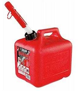 Gas Can, 2-Gallons - True Value