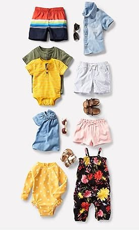 Old Navy Baby Bodysuits From ONLY $1.97