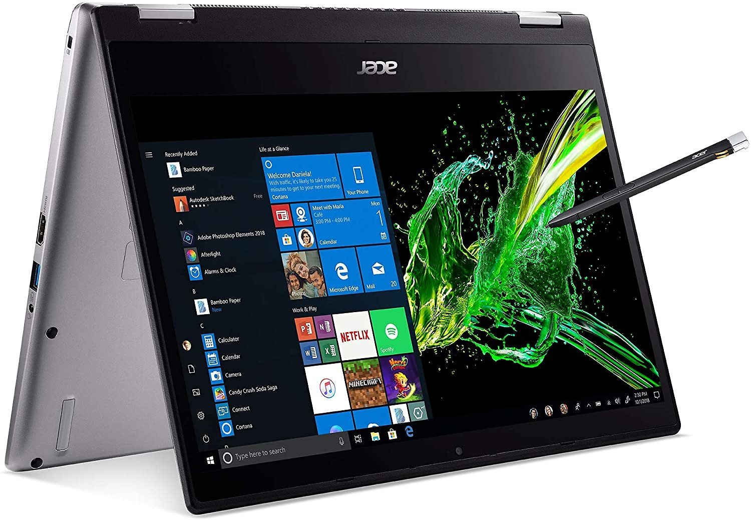 Acer Spin 3 Convertible Laptop, 14