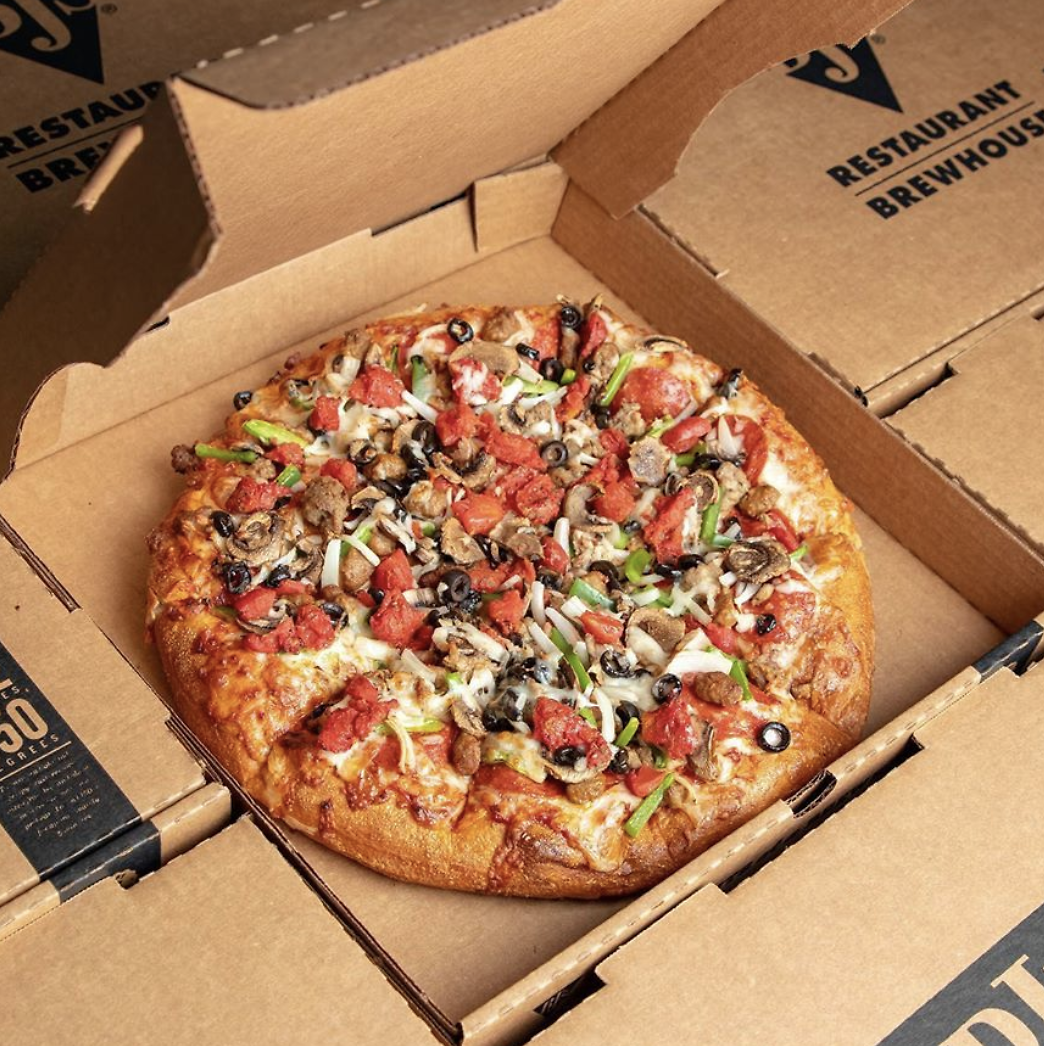 50% Off Large Pizzas!
